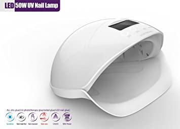 50W Professional LED UV Nail Dryer Nail Lamp Light For Nail Art At Home And  Salon