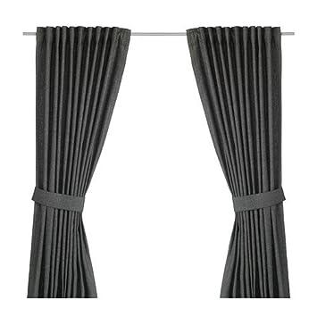 IKEA Vorhang-Set INGERT - zwei blickdichte Gardinen mit ...