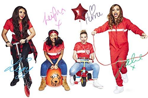 Little Mix firmato stampa fotografica 2–ottima qualità–30, 5x 20, 3cm (A4) CX ICONS