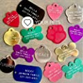 Love Your Pets 2-Sided Deep Engraved Pet ID Tags-Over 6 Million Sold-Now Selling on Amazon! 48 Different Choices - Dog Tags, Cat Tags & Pet Tags - Made in The USA