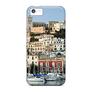 Awesome UJC4444Zprn CaroleSignorile Defender Hard Cases Covers For Iphone 5c- Beautiful Ibiza Spain