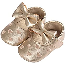 Baby Girl's Sweet Heart Shoes