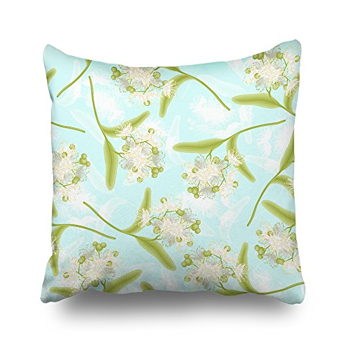 Linden Wallpaper - Asoco Throw Pillow Covers,Linden Double-sided Pattern Sofa Cushion Cover Couch 20 x 20 inch Home Decorative Gift Bed Pillowcase Summer Tropical Sea Beach Style Hidden Zipper