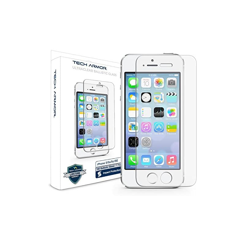Tech Armor Apple iPhone 5 Ballistic Glas