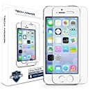 Tech Armor Apple iPhone 5 Ballistic Glass Screen Protectors for Apple iPhone 5C / 5S / 5 / Se [1-pack]