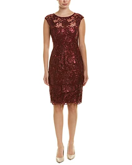 15473659c Image Unavailable. Image not available for. Color: Adrianna Papell Womens  Sheath Dress ...