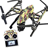 MightySkins Protective Vinyl Skin Decal for Yuneec Q500 & Q500+ Quadcopter Drone wrap cover sticker skins Electric Cicada