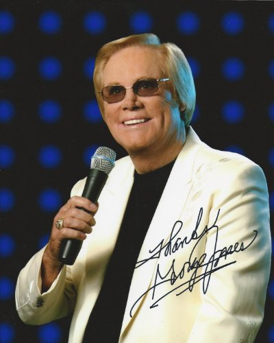 George Jones country legend reprint signed photo #2 RP