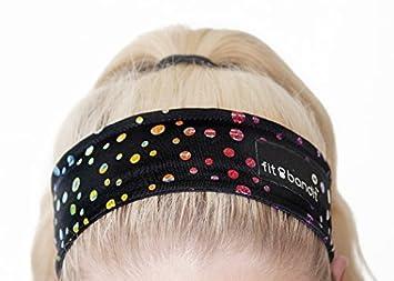 Amazon.com   New Headband   Sweatband 100% Cotton Cloth Large Black    Sports Headbands   Beauty c556278a0a2