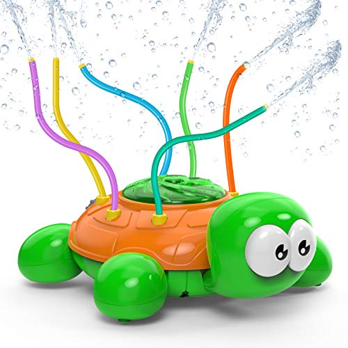 Darling turtle is perfect for kids summer fun!