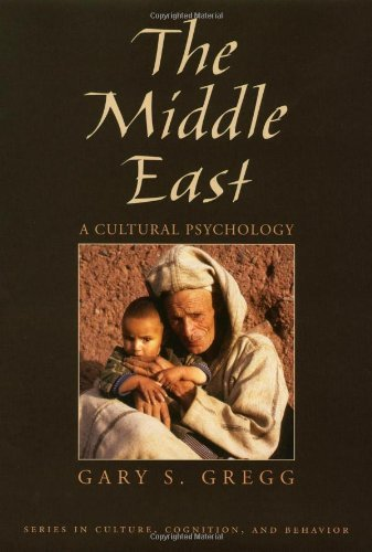 Download The Middle East: A Cultural Psychology (Culture, Cognition, and Behavior) Pdf