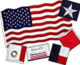 Valley Forge American Flag 5ft x 9.5ft Koralex II 2-Ply Sewn Polyester Review