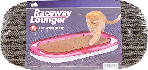 Prevue Pet Products Raceway Lounger Replacement Pad Scratcher, Natural