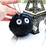 Cedmon My Neighbor Totoro Strech Vibrate Dust Bunny Soot Sprite Plush Toy 3 inch