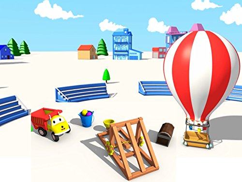 Hot Air Balloon Video (Learn colors and numbers with Ethan the Dump Truck : The Targets / The Hot Air Balloon)