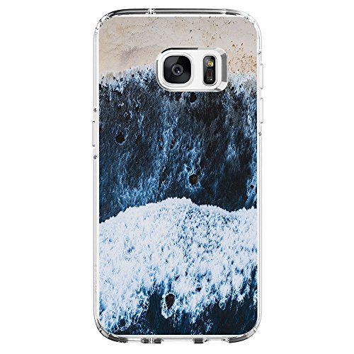 Price comparison product image Beryerbi Samsung Galaxy s7 Edge Thin Case Cover TPU Transparent Clear Soft Silicone Anti-Shock Protective Cover (8,  Galaxy s7 Edge)