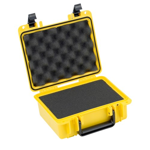 Impact Media Safes - Seahorse SE300 Protective Case with Foam (Yellow)