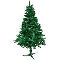 LARS360 Künstlicher Weihnachtsbaum Christbaum Tannenbaum inkl. Metallständer Künstliche Tanne mit Klappsystem Für Aussen Weihnachtsdeko Innen Weihnachten-Dekoration Innen
