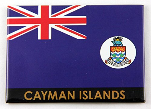 Cayman Islands Flag Caribbean Fridge Collector's Souvenir Magnet 2.5