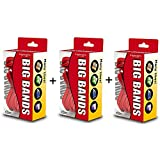 "Alliance Rubber 00699 Big Bands for Oversized Jobs, 144 Pack of Large Elastic Bands (7"" x 1/8"", Red)"