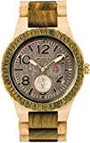 WeWood Kardo Army Beige Wood Watch | Army/Beige