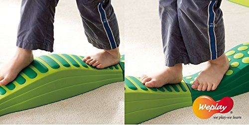 Weplay Wavy Tactile Path, Green by Weplay (Image #2)