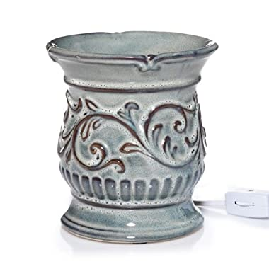 Yankee Candle Everyday Ceramic Antique Teal Electric Wax Melts Warmer