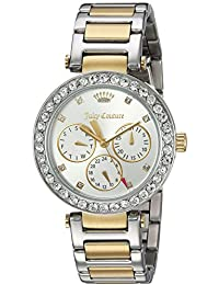 Women's 'CALI' Quartz Stainless Steel Casual Watch, Color:Two Tone (Model: 1901506)