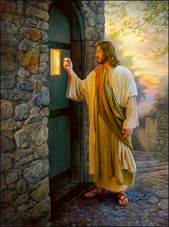 Let Him In by Greg Olsen Limited Edition Canvas Artist Proof Print 15 x 20-inches