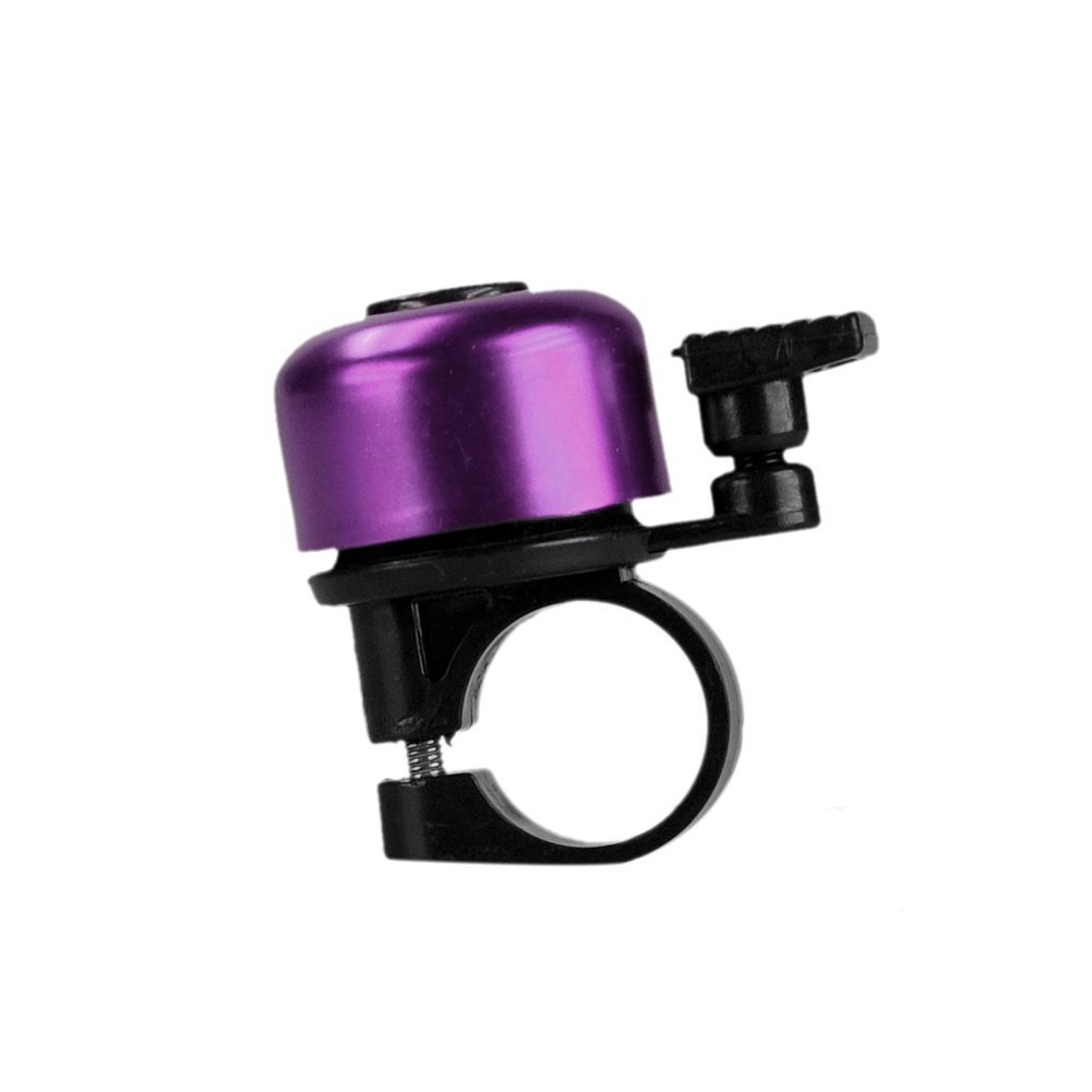 Bicycle Bell Alloy Mini Purple