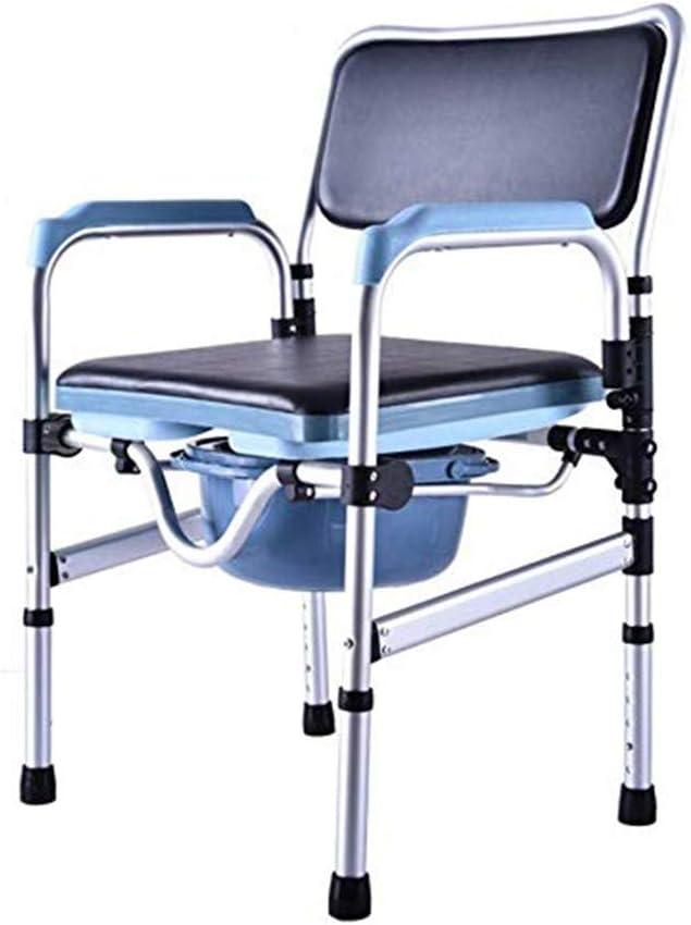 Massage-AED Silla De Ducha Silla De Inodoro Y Asiento De Inodoro Acolchado Ducha Transporte Accesible para Personas Mayores con Discapacidad Mujeres Embarazadas
