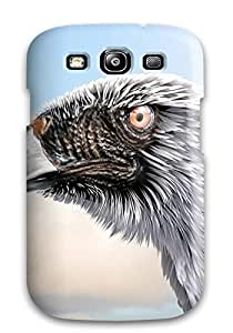 Best Pretty Galaxy S3 Case Cover/ Strange Eagle Series High Quality Case 1577188K54132056