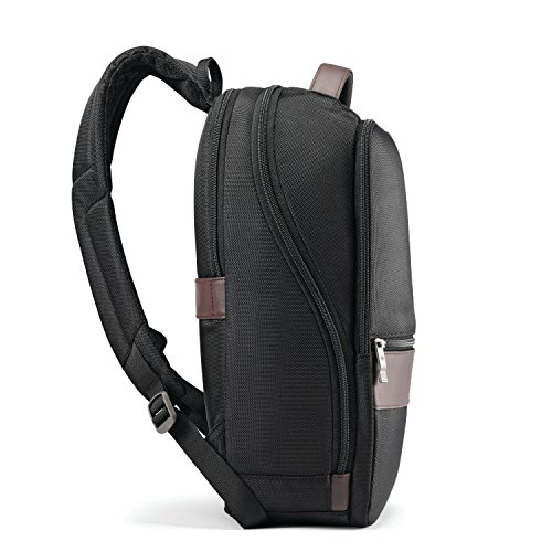 Samsonite Kombi Small Backpack, Black/Brown by Samsonite (Image #4)