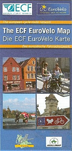 Price comparison product image The ECF EuroVelo Map