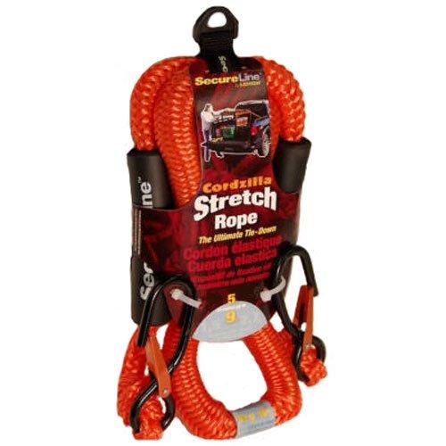 Crawford-Lehigh CZB5 5-Feet Cordzilla Stretch Rope, Orange by Crawford-Lehigh (Image #2)