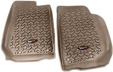 Rugged Ridge 13920.03 All-Terrain Tan Front Floor Liner - Pair