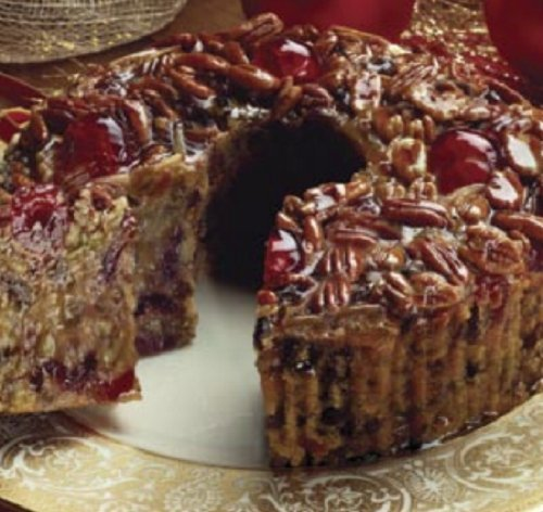 Collin Street Bakery - World Famous Fruit Cake, made from an old family receipe, filled with the best fruits and nuts, all occasion gift, Holiday table tradition