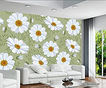 Mbwlkj Los Murales De Pared 3d Flores Minimalista Moderno Dormitorio