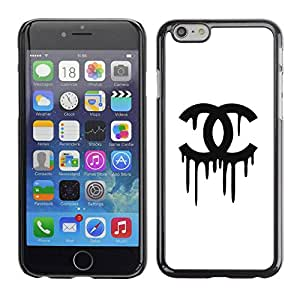PC/Aluminum Funda Carcasa protectora para Apple Iphone 6 Plus 5.5 Clothing Black White Fashion / JUSTGO PHONE PROTECTOR