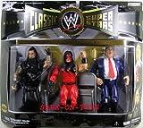 WWE Classic Superstars Undertaker Kane Paul Bearer Wal- Mart 3 pack of Figure