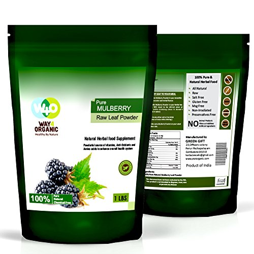 Liquid Concentrate Resveratrol Natural (Mulberry Powder - Mulberry Leaf Extract - All Natural - 1 Lb - Way4Organic)
