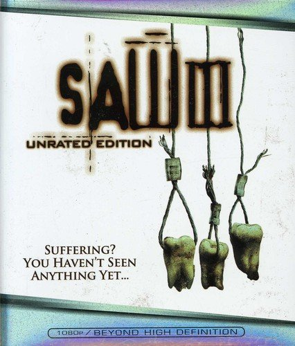 Blu-ray : Saw 3 (, Dolby, Widescreen, Unrated Version, Sensormatic)