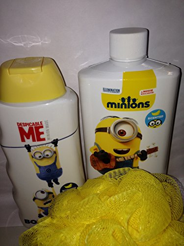 Price comparison product image Despicable Me Minions Banana Scented Bath Bundle of 3 Items Set