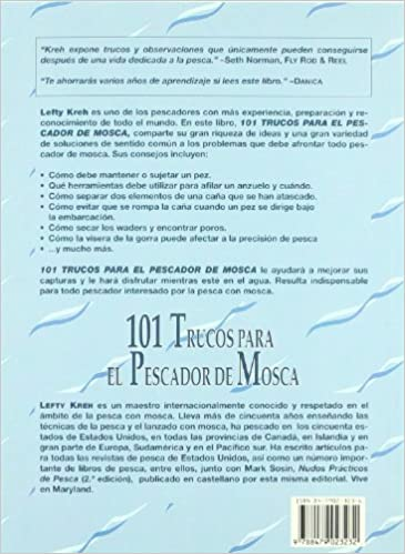 101 Trucos Para El Pescador de Mosca (Spanish Edition): Lefty Kreh: 9788479023232: Amazon.com: Books