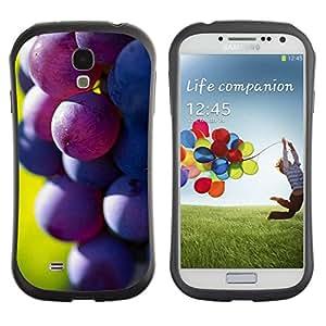 Suave TPU GEL Carcasa Funda Silicona Blando Estuche Caso de protección (para) Samsung Galaxy S4 I9500 / CECELL Phone case / / Fruit Macro Dark Grape /