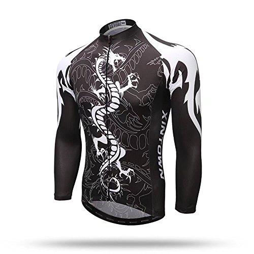 つぼみ考古学的なフィットKayiyasuカイヤス メンズ サイクルウェア サイクルジャージ 上着 自転車ウェア サイクリングジャージ 長袖 サイクリングウェア 伸縮性 通気性 019-xhyd-csy3(XXL 色8 )