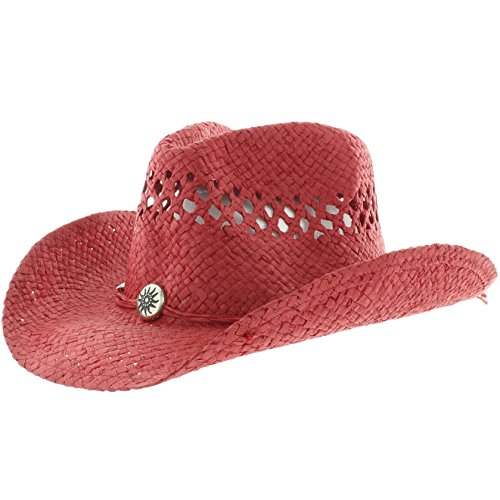 Milani The Stagecoach Cowgirl Brim Red