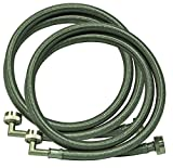 Eastman 48377 Washing Machine Hose with 90-Degree Elbow