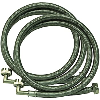 Eastman 48377 Washing Machine Hose with 90-Degree Elbow, 1-Pair