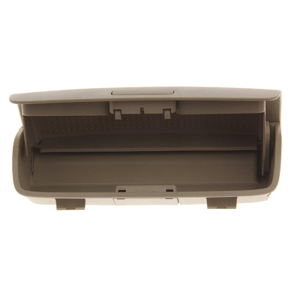 Grigio Gazechimp Supporto per Scatola Portaoggetti Porta Occhiali da Sole per VW Passat B6 Jetta Mk5